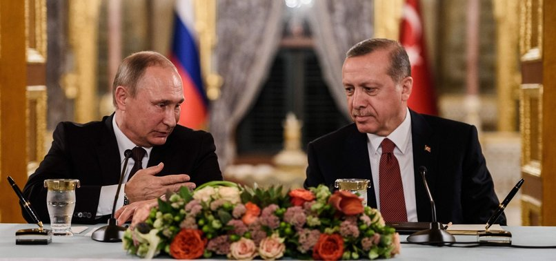 TURKISH, RUSSIAN LEADERS DISCUSS LIBYA AND SYRIA IN PHONE CALL