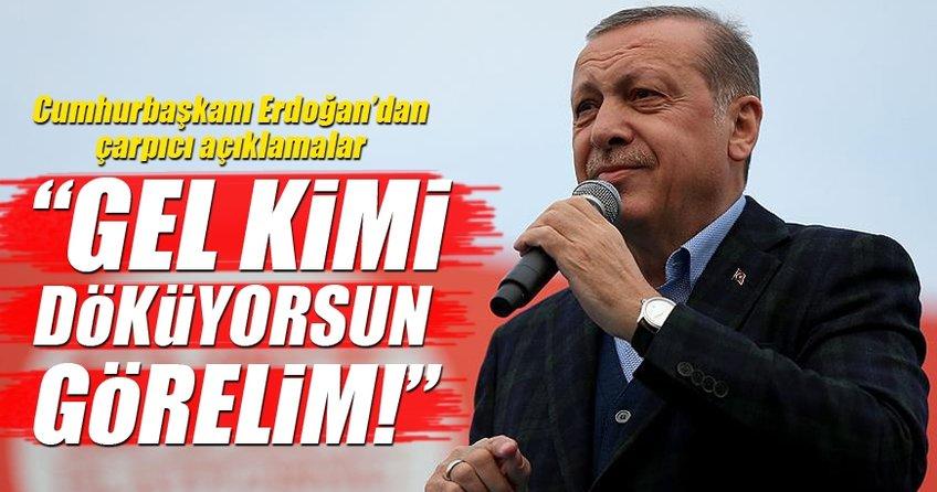 Cumhurbaşkanı Recep Tayyip Erdoğan İzmir'de önemli açıklamalar!