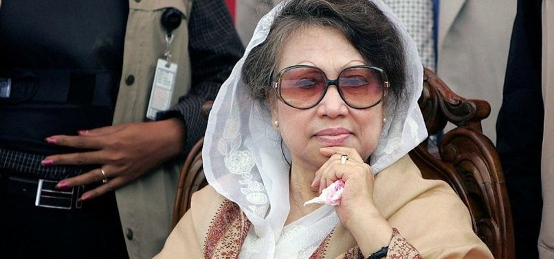 EX-BANGLADESHI PREMIER IN HOSPITAL FOR BREATHING ISSUES