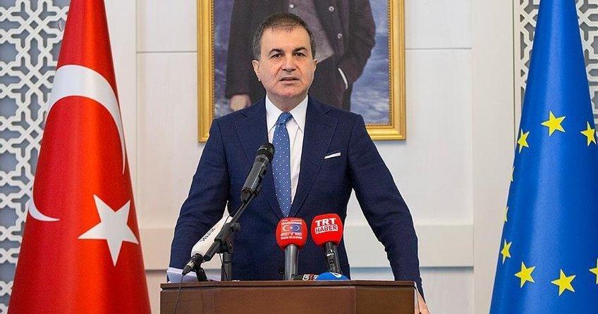 Çelikten ABnin Türkiye raporuna tepki