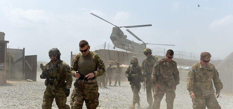 U.S. TROOP STRENGTH IN AFGHANISTAN DOWN TO CLOSE TO 8,600 AHEAD OF SCHEDULE
