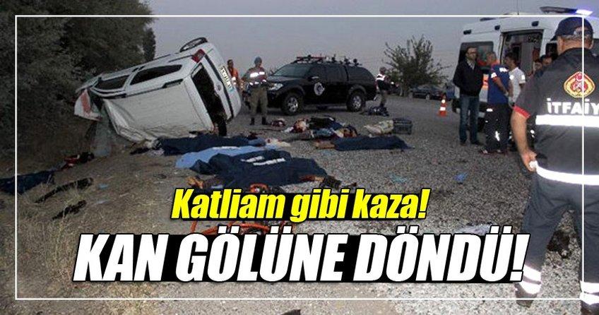 Katliam gibi kaza: 7 ölü!