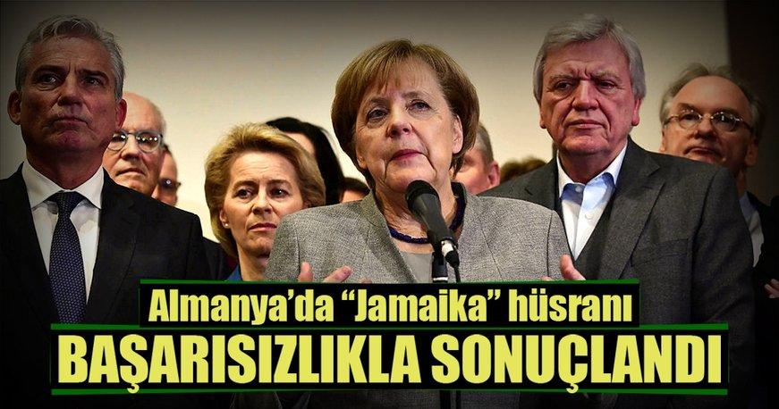 Almanya'da koalisyon görüşmeleri başarısız oldu