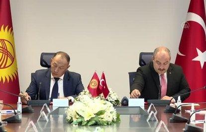 Kırgızistanilesanayiveteknolojialanındamutabakatzaptı