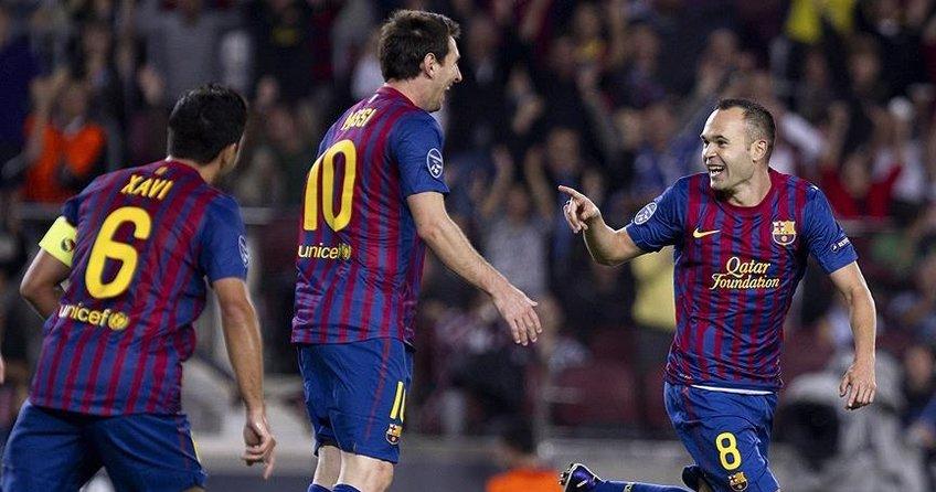 Efsane üçlüden geriye sadece Messi kaldı
