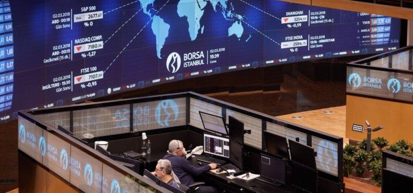 TURKISH STOCKS HIT 8-MONTH HIGH AT CLOSE