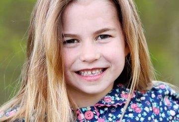 Prenses Charlotte 6 yaşına bastı