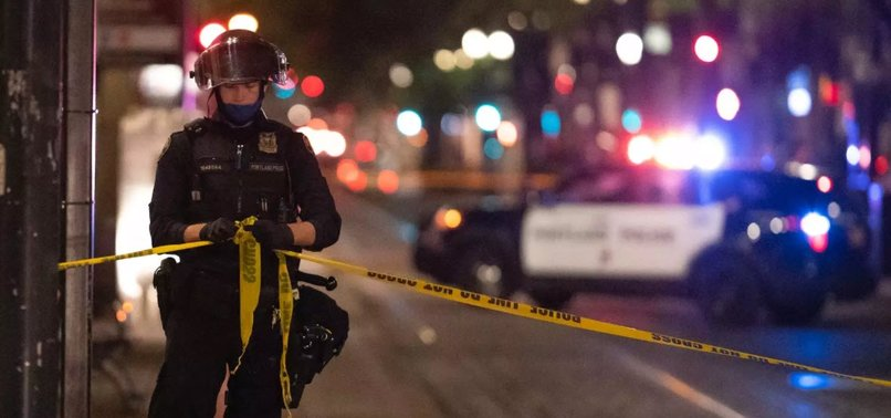 U.S. POLICE KILL SUSPECT IN FATAL SHOOTING OF A TRUMP SUPPORTER IN PORTLAND