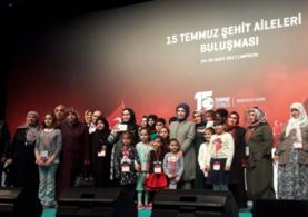 Emine Erdoğan 15 Temmuz şehit aileleri ile buluştu