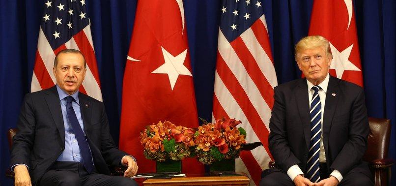 TRUMP SENDS CONDOLENCES TO ERDOĞAN OVER QUAKE IN TURKEY