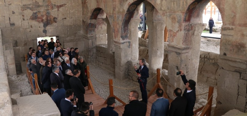 RESTORATION OF 6TH-CENTURY CHURCH ON HISTORIC PILGRIMAGE ROAD IN CENTRAL TURKEY COMPLETE