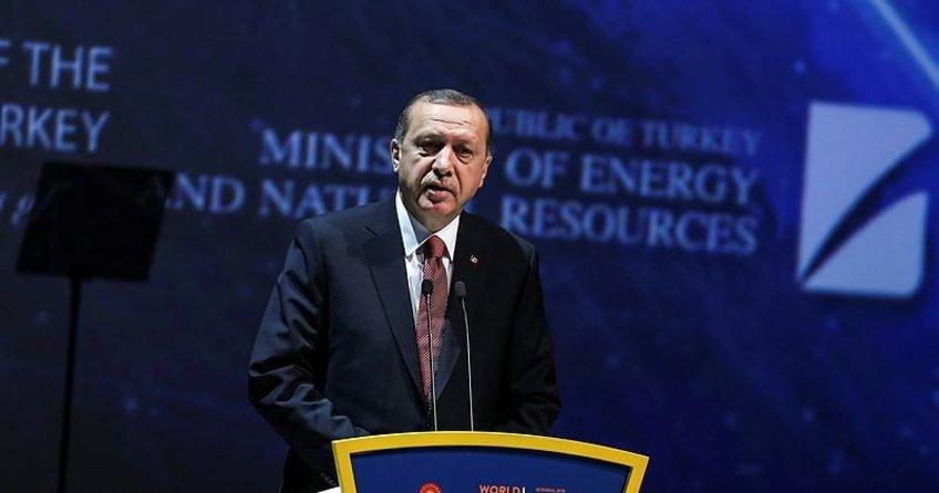Erdoğan: Gelin enerjiyi barış ve adaletle birleştirelim