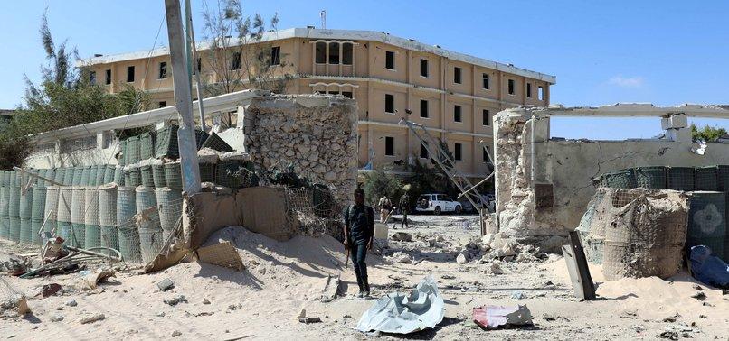 AL SHABAAB ATTACK ON SOMALI MINISTRY IN MOGADISHU KILLS AT LEAST 15