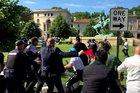 Türkiyeden ABDdeki korumalar hakkındaki davaya tepki