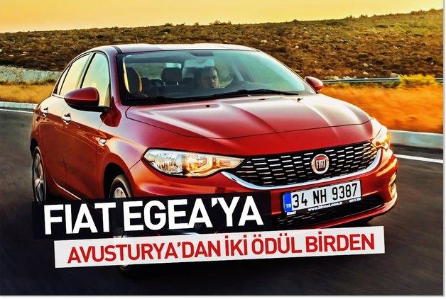 Fiat Egea'ya Avusturya'dan iki ödül birden