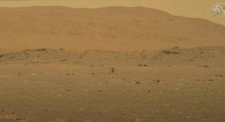 NASA, Marsa Gönderdiği Mini Helikopter Ingenuityyi Uçurdu
