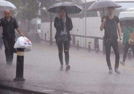 Meteoroloji'den bu akşam için sağanak yağış uyarısı!