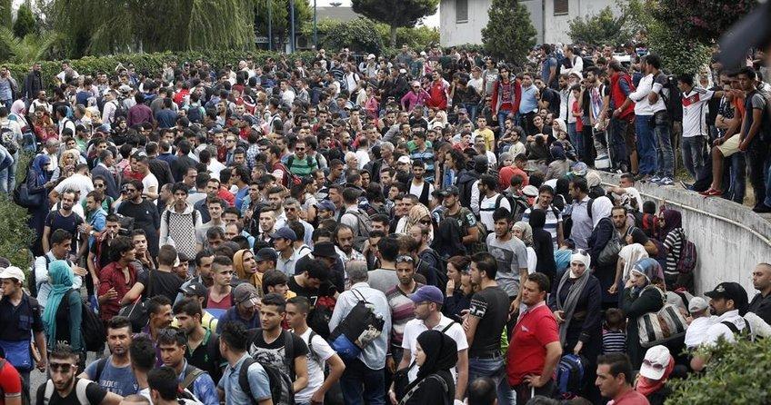 Türkiyedeki Suriyeliler en çok Almanyaya yerleşti