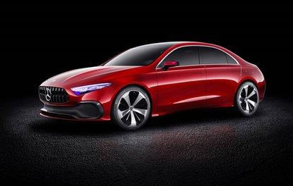 2017 Mercedes-Benz A Sedan Concept