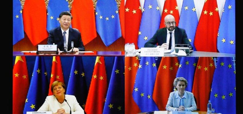 CHINAS XI STRESSES ON MULTILATERALISM AT EU SUMMIT