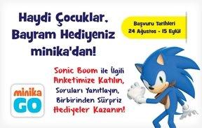 Sonic Boom ile ilgili anketimizi kazananlar belli oldu!