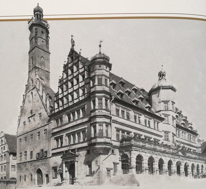Belediye binası, Rothenburg