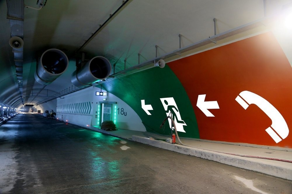 Prime Minister Yu0131ldu0131ru0131m announced on Saturday the Eurasian Tunnel, which will connect the Asian and European sides of Istanbul under the Bosporus, will open on Dec. 20.
