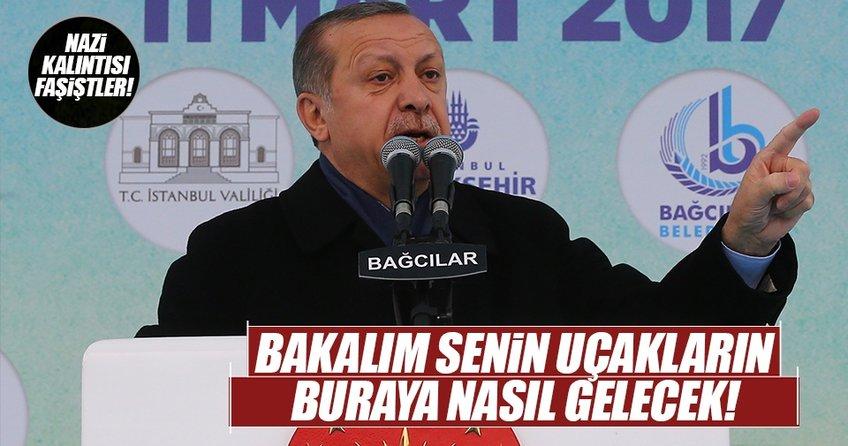 Erdoğandan Hollandaya yaptırım sinyali