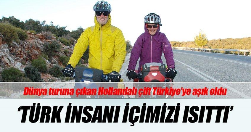 Hollandalı çift: Türk insanı içimizi ısıttı