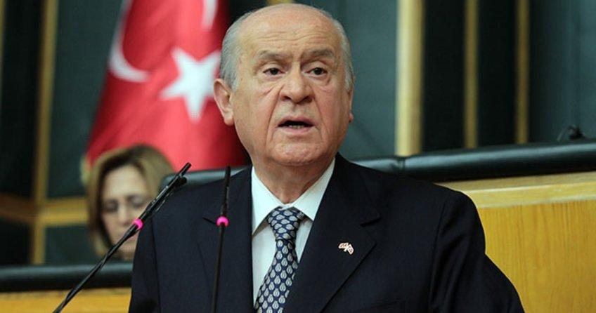 """MHP lideri Devlet Bahçeli'den flaş açıklama! """"Cumhurbaşkanı Erdoğan yalnız değildir"""""""