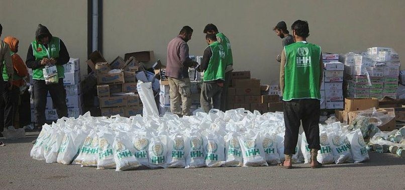 TURKISH NGO DELIVERS HUMANITARIAN AID TO SYRIANS