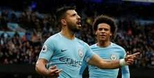 Aguero equals Man City scoring record