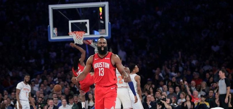 Harden scores career-best 61, Rockets edge Knicks 114-110 - anews