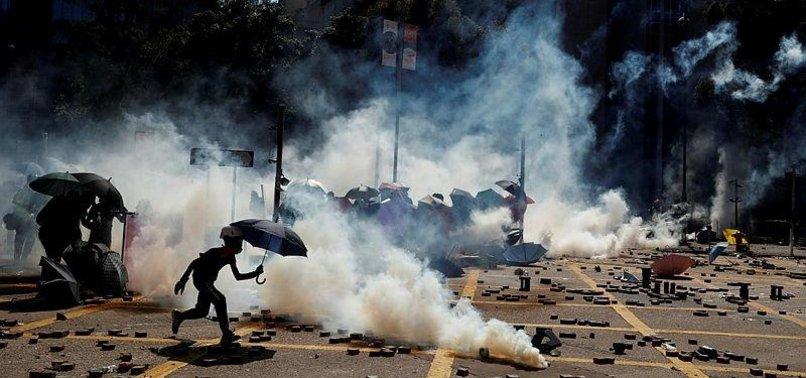 UN RIGHTS OFFICE URGES HONG KONG DE-ESCALATION