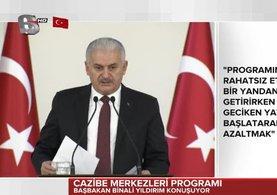 Başbakan Binali Yıldırım Çankaya Köşkü'nde, Cazibe Merkezleri Programı'nda konuştu