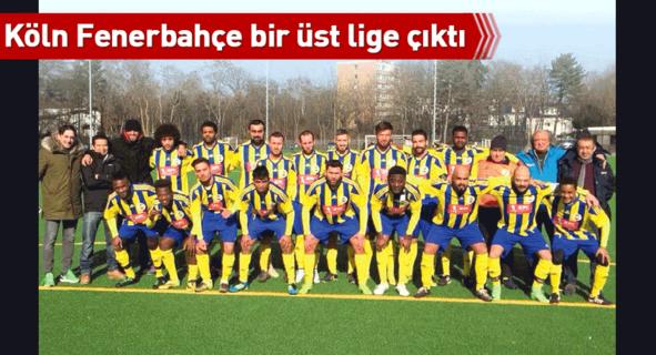 Köln Fenerbahçe bir üst lige çıktı