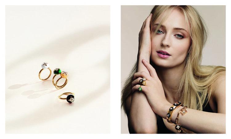 Louis Vuitton Yeni Mücevher Koleksiyonu B Blossom'ı tanıttı
