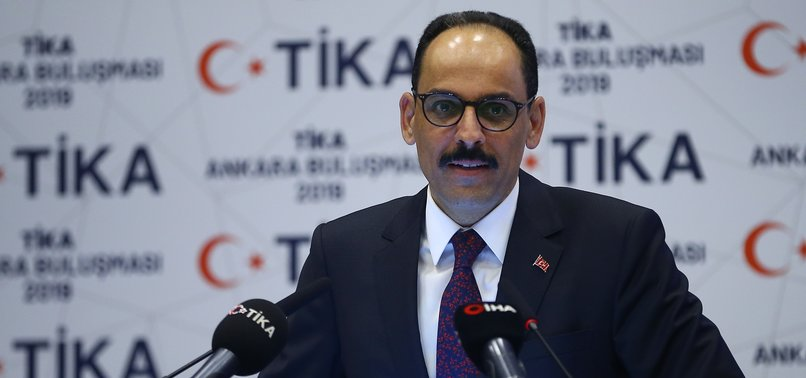 TURKEY HAS NO SECRET AGENDA IN ANYWHERE OF WORLD: ERDOĞAN AIDE