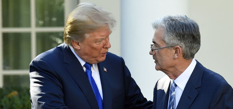 TRUMP ASKS WHO IS BIGGER ENEMY, FED CHAIR POWELL OR CHINAS XI?