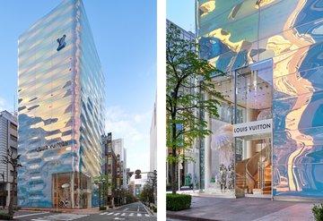 Louis Vuittonın Tokyo Ginzadaki Mağazası Yenilendi