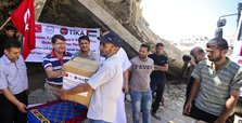 Turkey continues to distribute aid to Palestine