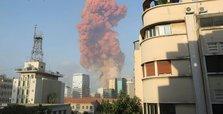 Large blast in Beirut port area shakes Lebanon's capital