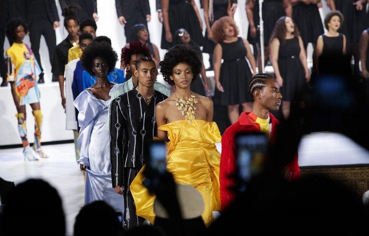 Pyer Moss, temmuz ayında ilk haute couture koleksiyonunu piyasaya sürecek.
