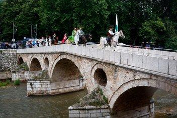 Atlılar Ayvaz Dede için Saraybosnadan yola çıktılar