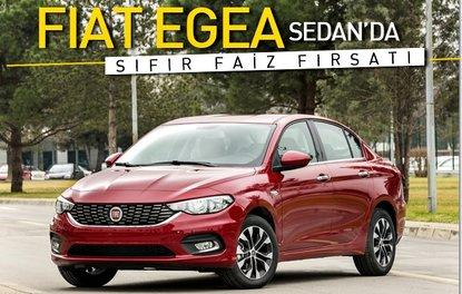 Fiat Egea'da sıfır faiz fırsatı