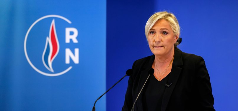 FRENCH FAR-RIGHT LEADER LE PEN CALLS FOR CLOSURE OF MOSQUES BY DECLARING A WAR AGAINST ISLAMISM