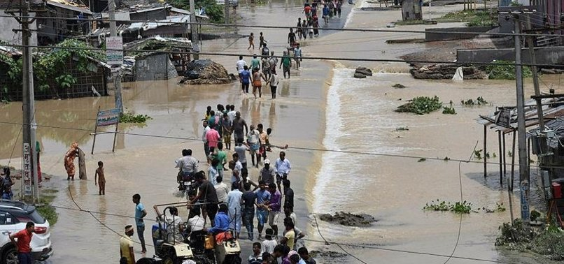 MORE THAN 100 KILLED IN INDIA DUE TO HEAVY RAINS