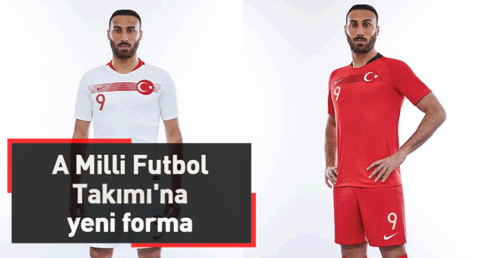 A Milli Futbol Takımına yeni forma