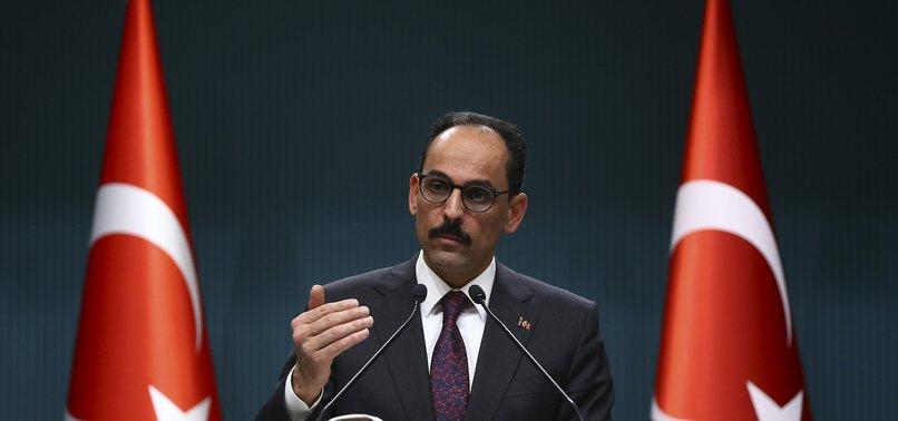 TURKEY'S SPOX SLAMS ISRAELI PM OVER ERDOĞAN REMARKS