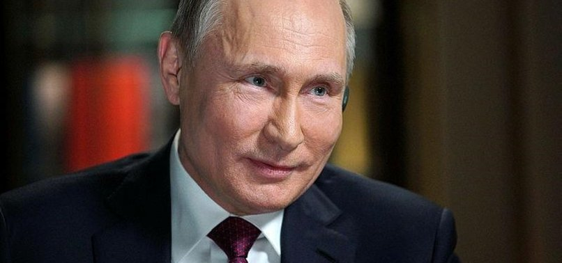 PUTIN SAYS HE WILL NEVER GIVE CRIMEA BACK TO UKRAINE